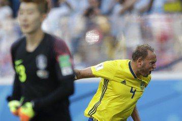 格蘭奎費斯特12碼罰球致勝 瑞典1:0勝南韓