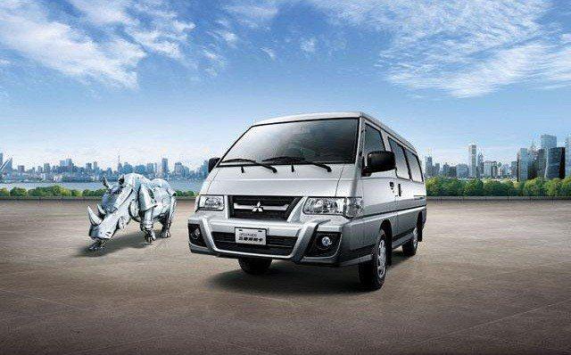 台灣方面仍是沿用第三代Delica為基礎,並自行改款研發。 摘自三菱汽車
