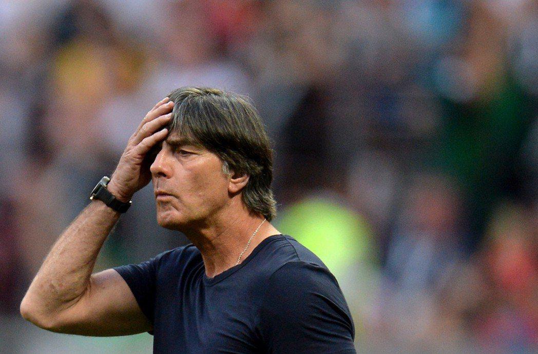 德國隊總教練勒夫。 歐新社