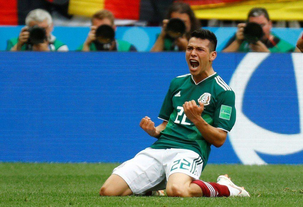 有「墨西哥C羅」之稱的重點新星洛薩諾(Hirving Lozano),在進球之前...
