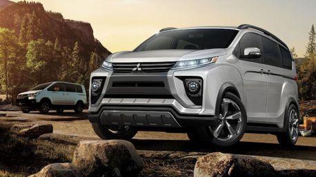 2019 Mitsubishi Delica歐陸測試中 越野風格不減