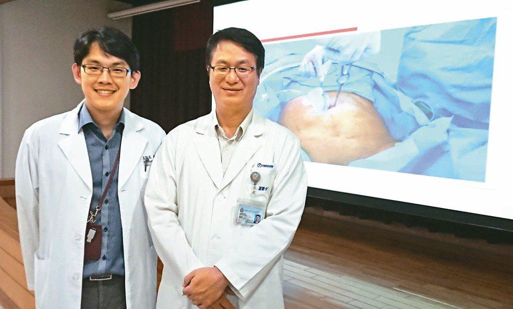 高醫泌尿部團隊針對攝護腺癌獨步發展達文西單孔微創手術,患者術後傷口小、不會腸沾黏...