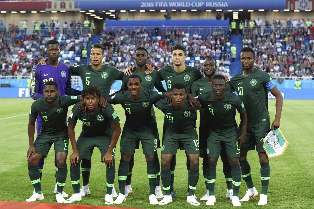 「非洲雄鷹」奈及利亞的球衣卻在周邊商品市場上掀起一波狂潮。 美聯社