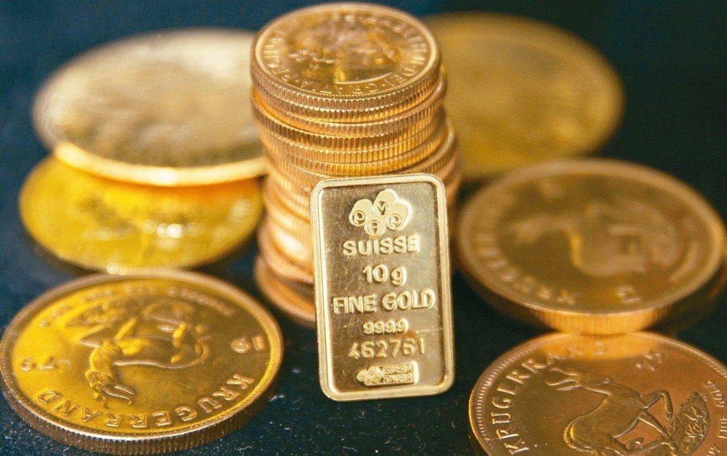 臺灣期交所規劃將黃金類契約納入夜盤交易適用商品。 圖/聯合報系資料照片