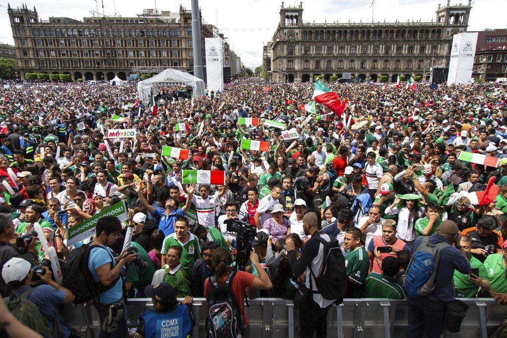 墨西哥官方發澄清聲明,日前首都確實出現地震活動,但和世界盃足球賽球迷歡慶進球沒有...