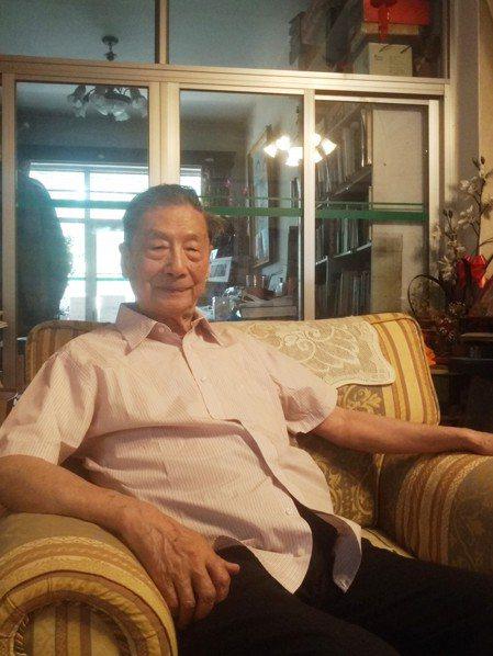 中國著名經濟學家茅于軾。中央社