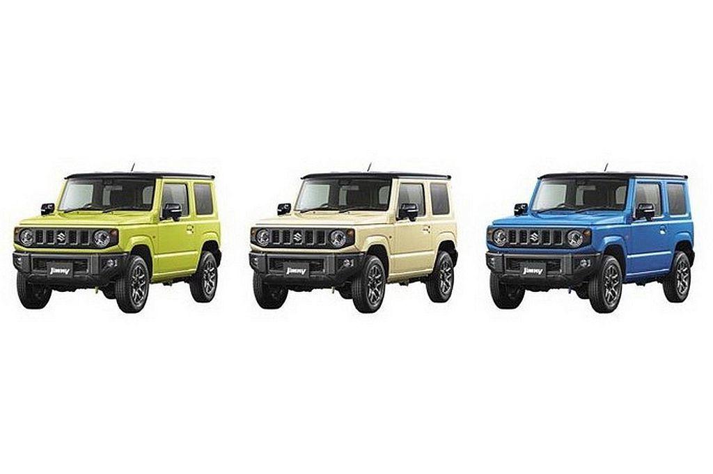 全新第四代Suzuki Jimny終於在原廠網站正式亮相。 圖/Suzuki提供