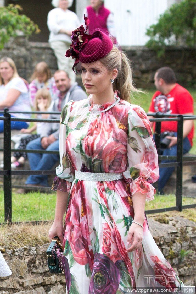 Lady Kitty Spencer。圖/達志影像