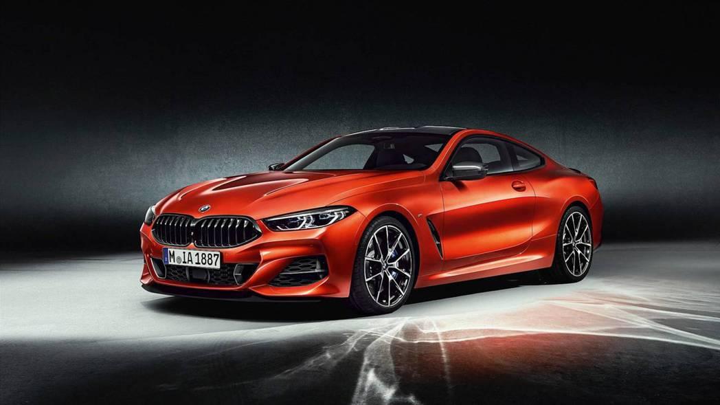 新世代BMW 8 Series Coupe。 摘自BMW
