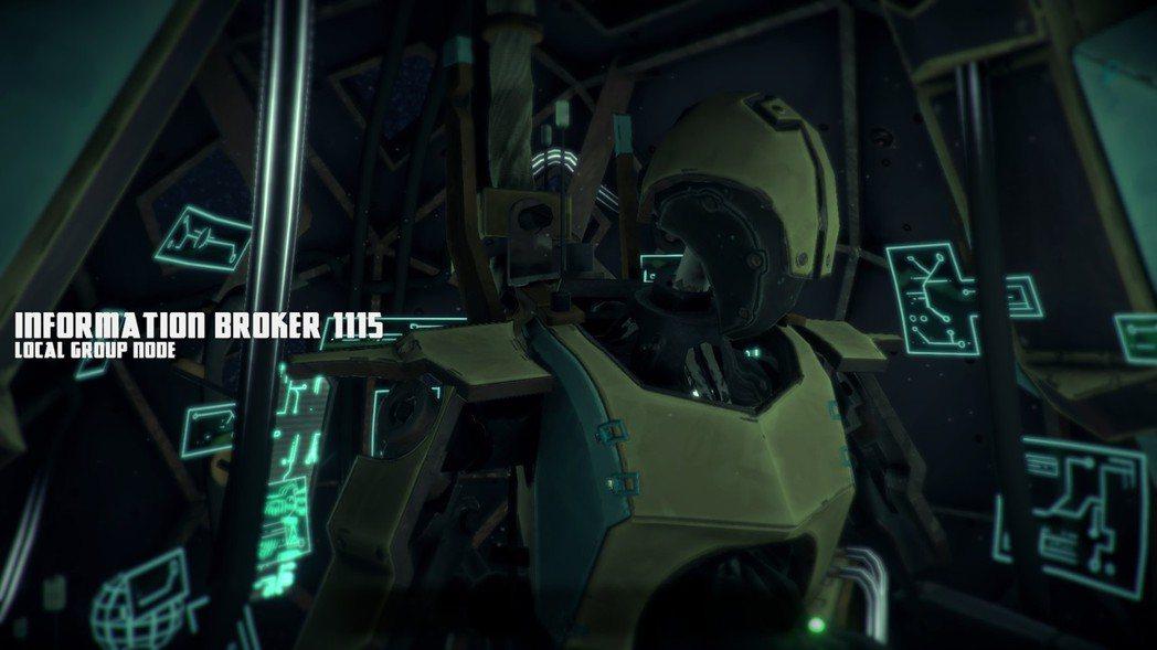▲船上有另一名負責和玩家聯絡的機器人。