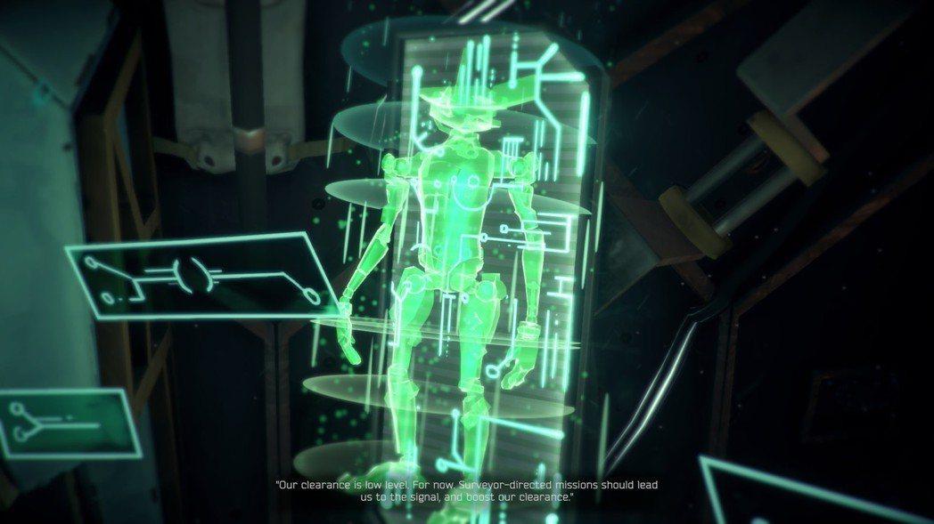▲藉由操縱 Suveyor「調查者」來探索星球表面。