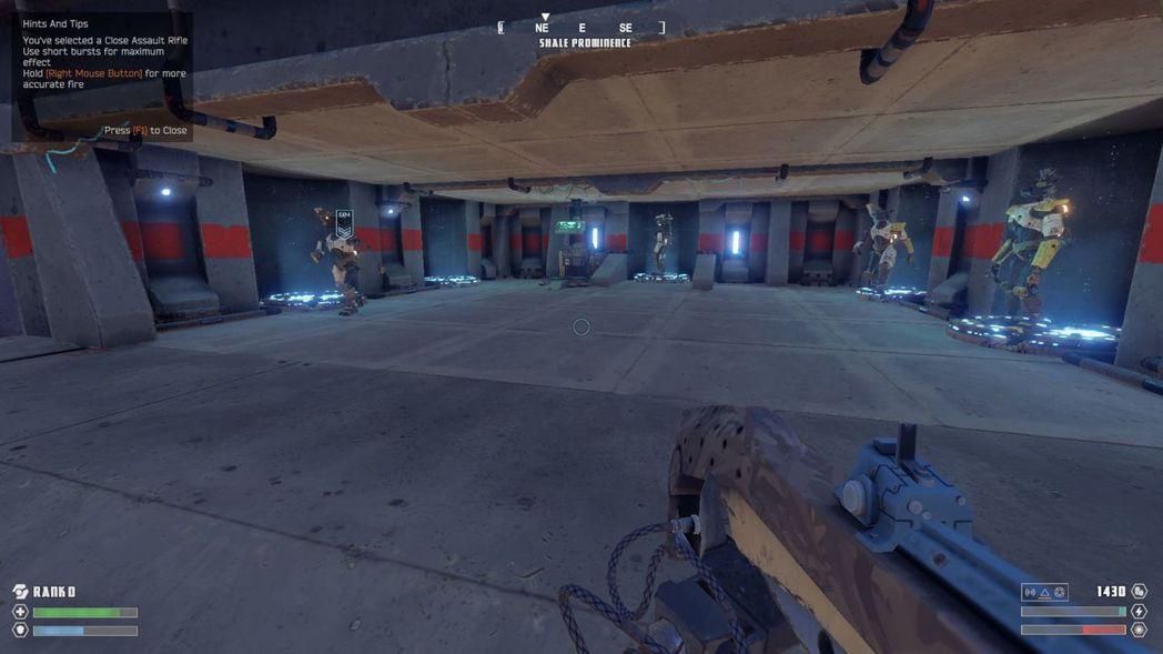 ▲佔領碉堡後友方機器人就會開始出現。