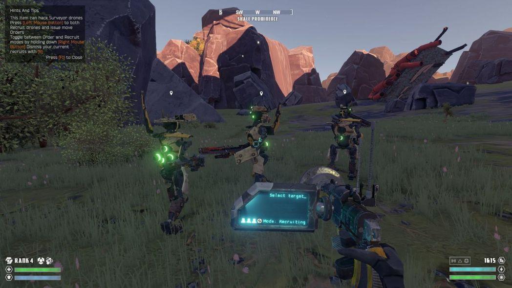 ▲後期戰鬥難度偏高,不妨利用駭客工具多帶點機器人小弟。