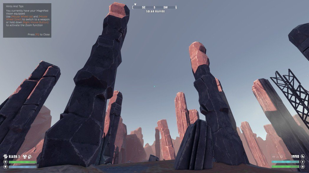 ▲雖然托瓦星幾乎沒有建築物,卻有高聳的巨石陣列。