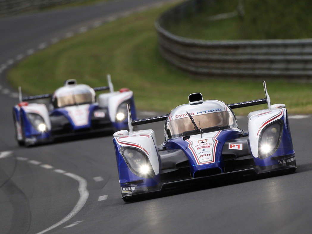 2012年Toyota回歸利曼24小時耐久賽,採用Toyota Hybrid S...
