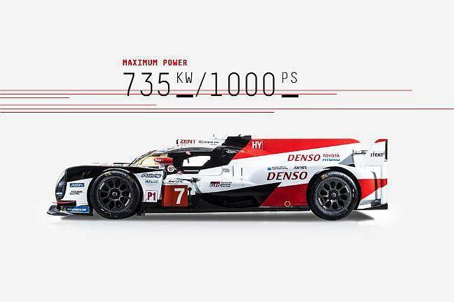 今年最新版Toyota TS050 Hybrid動力搭載2.4L V6雙渦輪汽油...