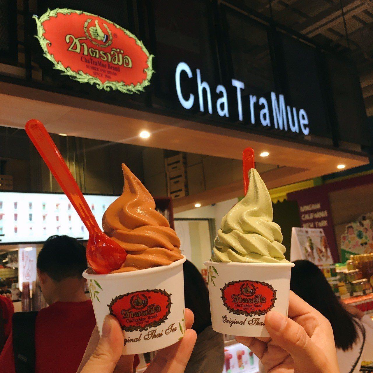 ▲泰國手牌奶茶冰淇淋。(圖/Tripbaa趣吧!亞洲自由行專家)