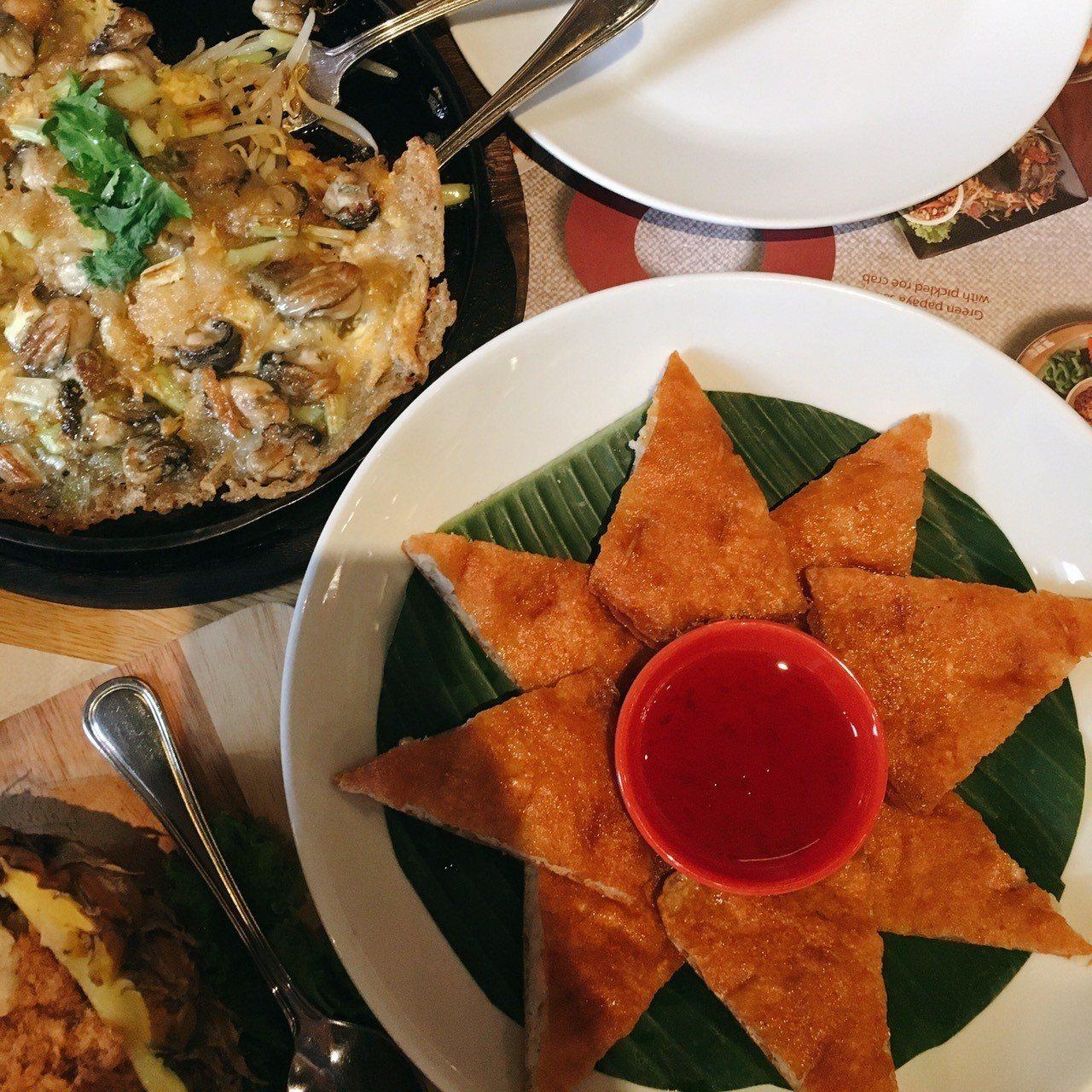 ▲泰國月亮蝦餅。(圖/Tripbaa趣吧!亞洲自由行專家)