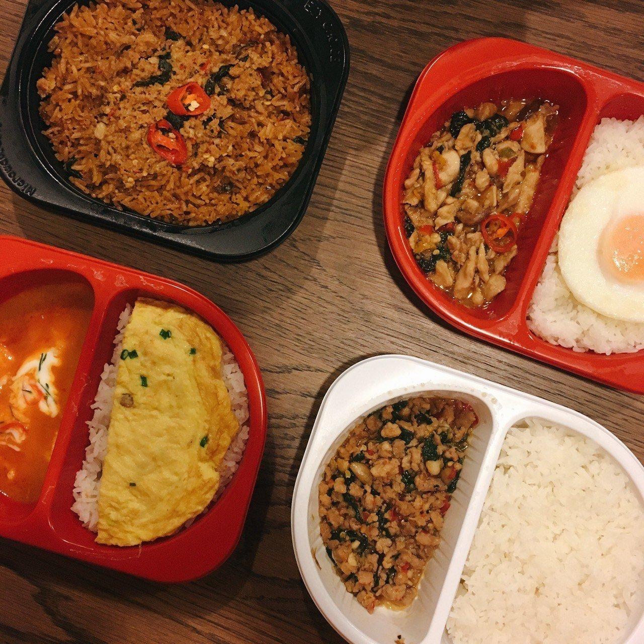 ▲泰國7-11微波食品。(圖/Tripbaa趣吧!亞洲自由行專家)