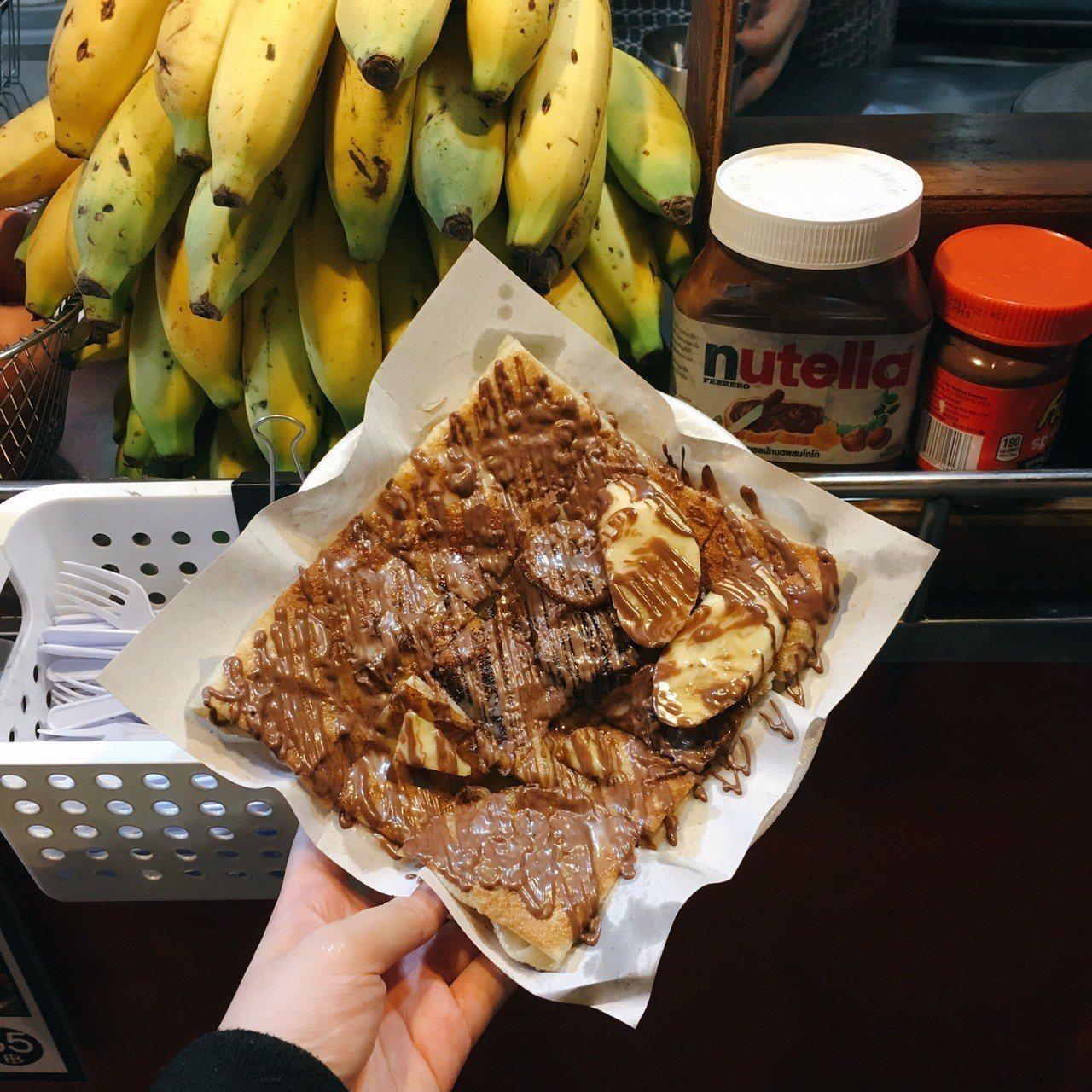 ▲泰國香蕉煎餅。(圖/Tripbaa趣吧!亞洲自由行專家)