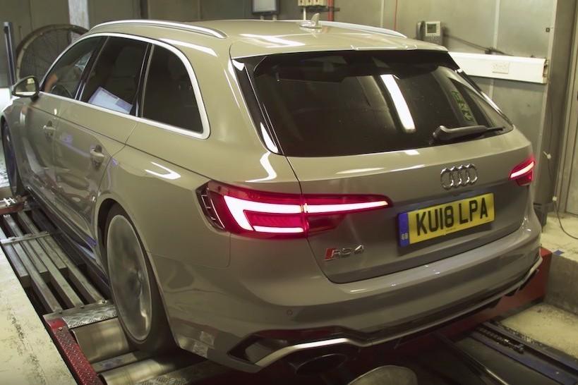 全新Audi RS4實力強大 連原廠都留了一手