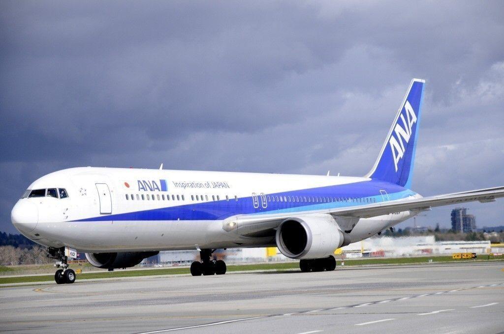 日本全日空航空。聯合報系資料照片