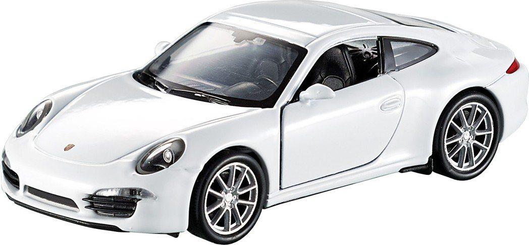 白色PORSCHE 911 Carrera S(991),約12*3.5*5公分...