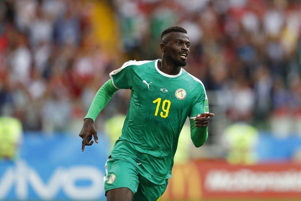 塞內加爾隊尼昂攻下球隊第二球。美聯社