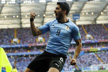 蘇亞雷斯點球破網 烏拉圭1:0領先沙烏地
