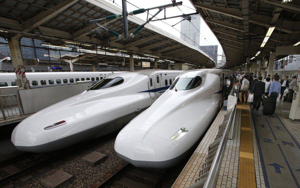 日本新幹線的東京車站。 圖/聯合報系資料照片