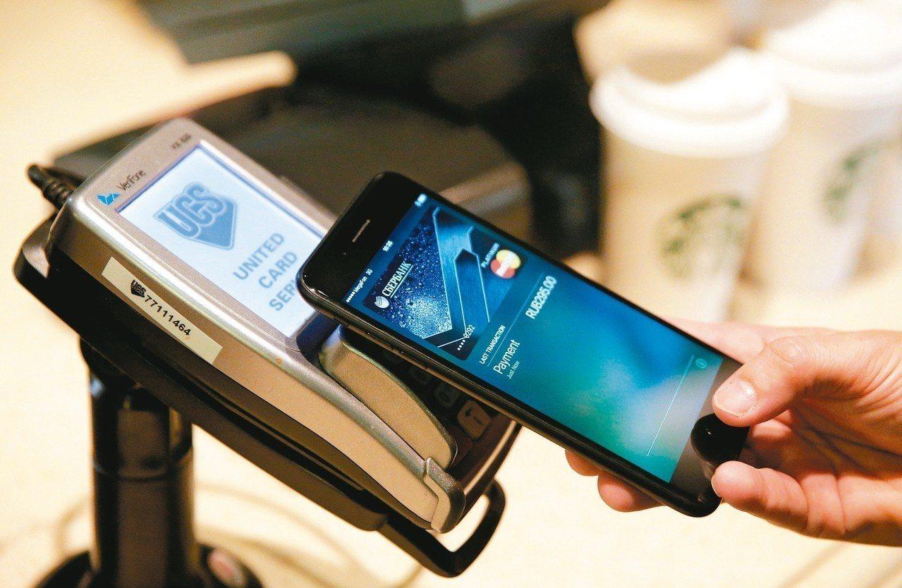 富邦金控旗下台北富邦銀行大數據分析,Apple Pay是最普及的行動支付。 聯合...