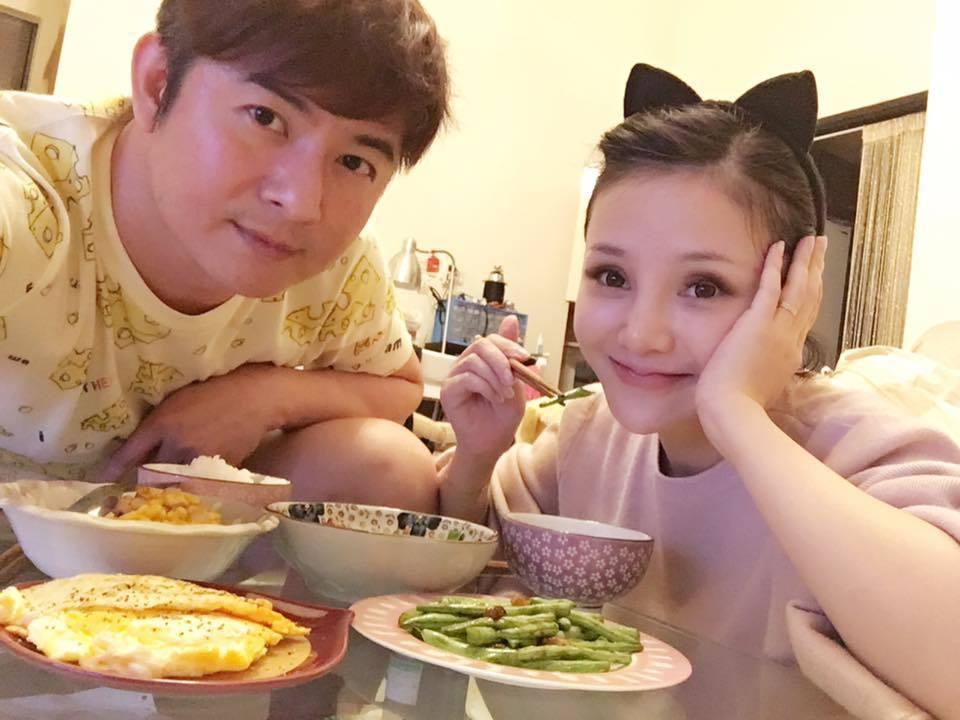 陳子玄(右)與陳建隆(左)之前感情甜蜜。 圖/擷自臉書