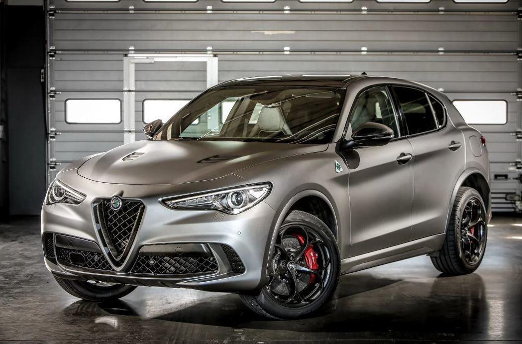 Alfa Romeo Stelvio Quadrifoglio NRing。 摘自Alfa Romeo