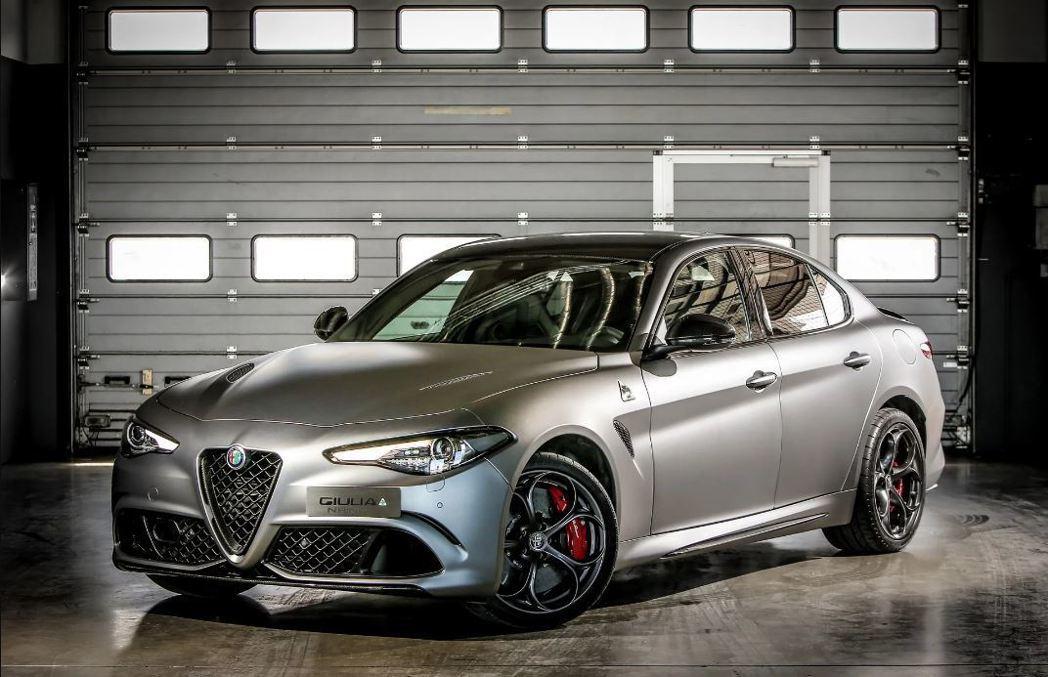 Alfa Romeo Giulia Quadrifoglio NRing。 摘自Alfa Romeo