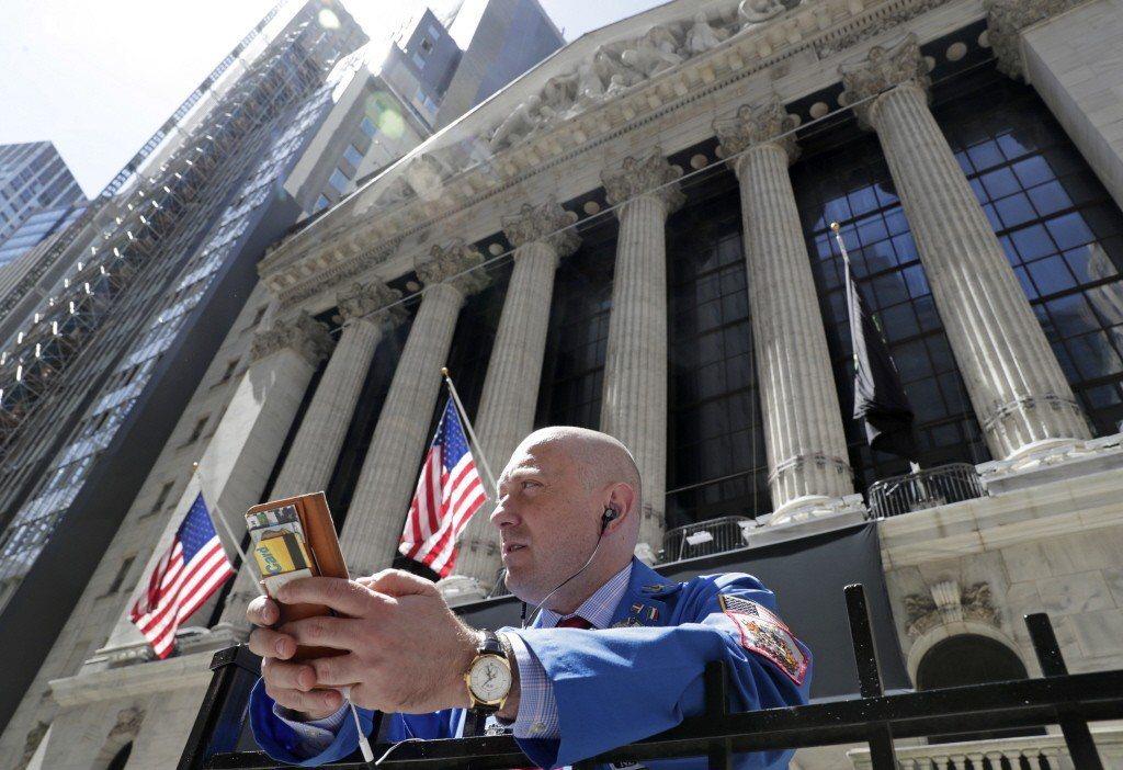 美國紐約證券交易所。 圖/美聯社