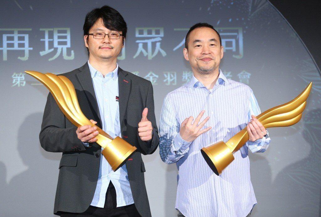 17 Media創辦人黃立成(右)與M17 Entertainment集團營運長...