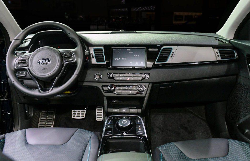 全新Kia Niro EV 內裝。 摘自Kia