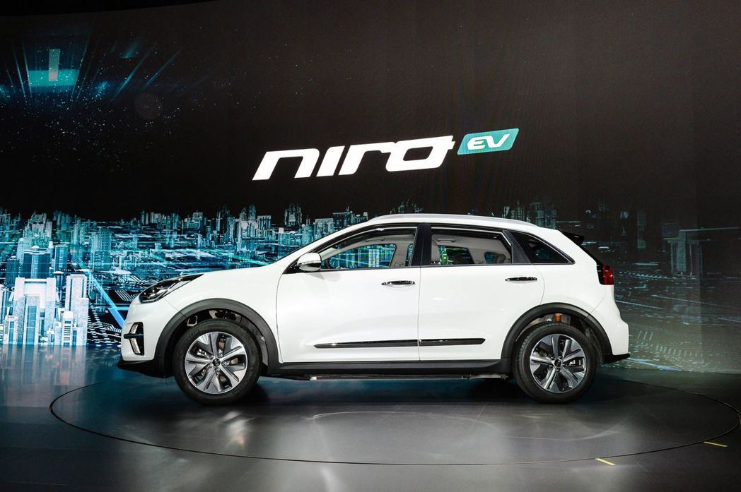 全新Kia Niro EV。 摘自Kia