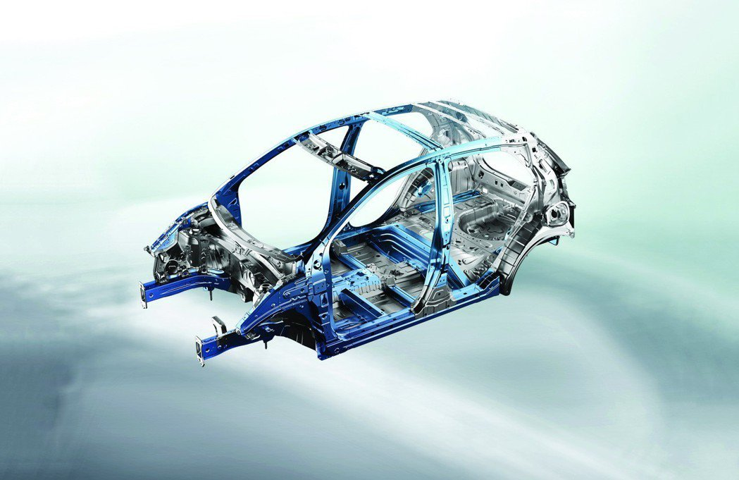 AHSS先進高強度鋼材。 圖/台灣森那美起亞提供
