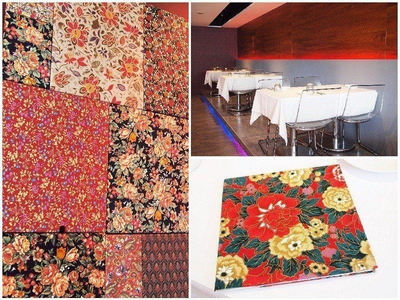 ▲室內環境寬敞乾淨,細節處悄悄融入在地元素,拼接在牆上的花布也是用保存已久的「老...