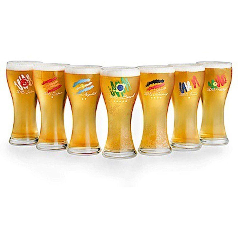 2018 FIFA世足限定Let's GOAL啤酒杯0.33L 3入組,原價1,...