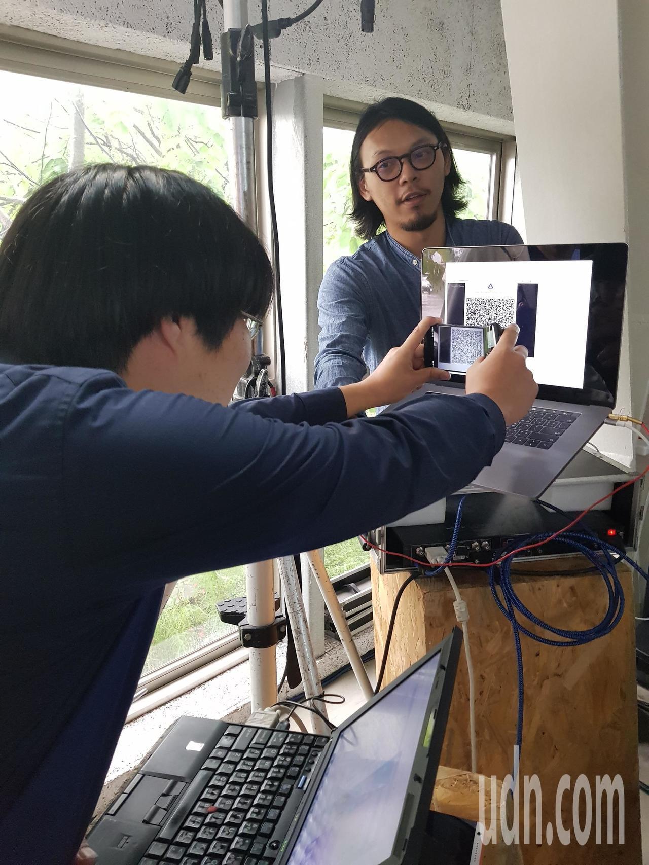 成大未來智慧工廠今天展示研發成果。記者修瑞瑩/攝影