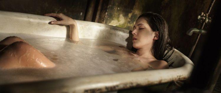 許瑋甯出浴是新片《記憶大師》的一大賣點。圖/向洋提供