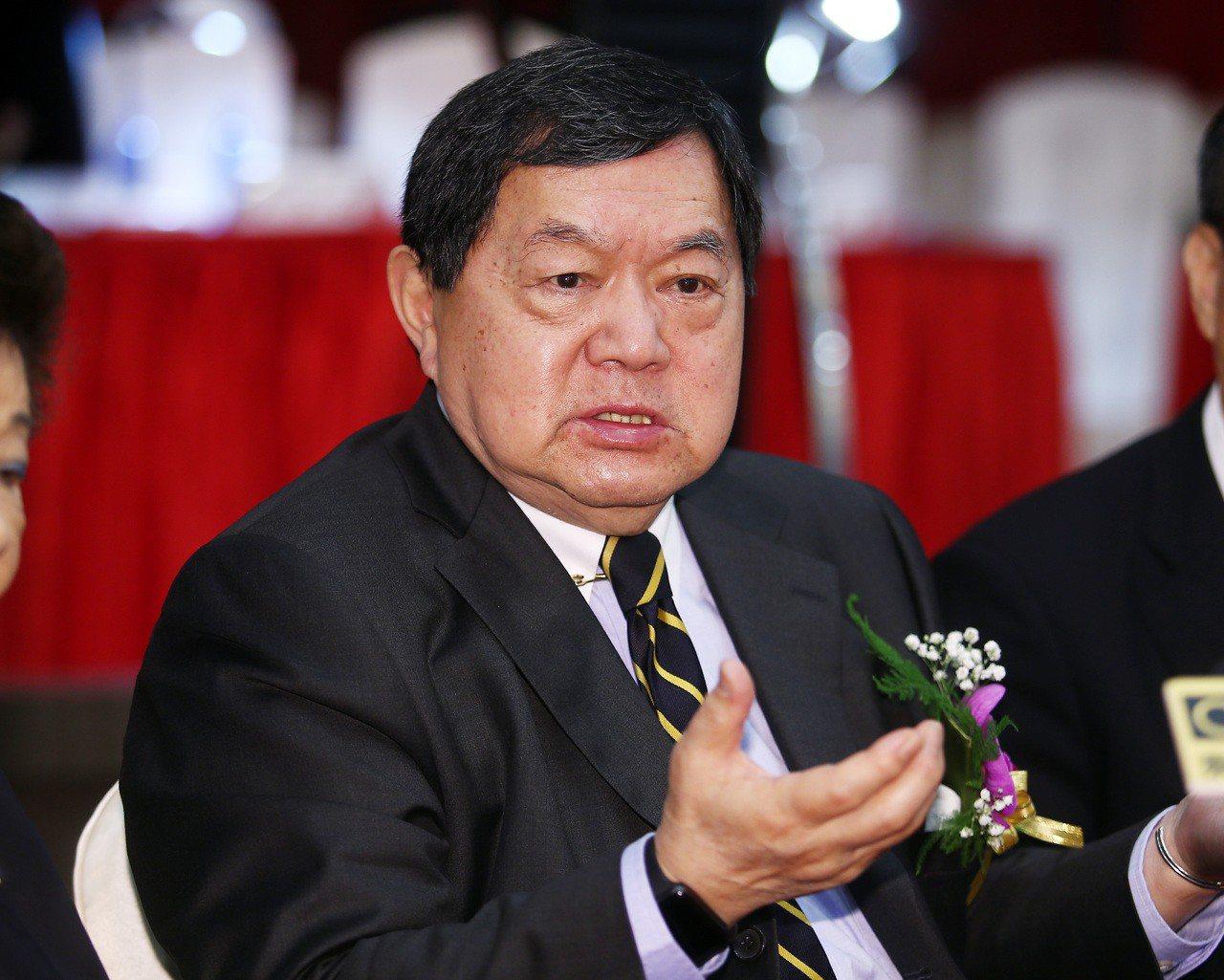 遠東集團董事長徐旭東認為中美貿易戰是政治問題。記者杜建重/攝影。
