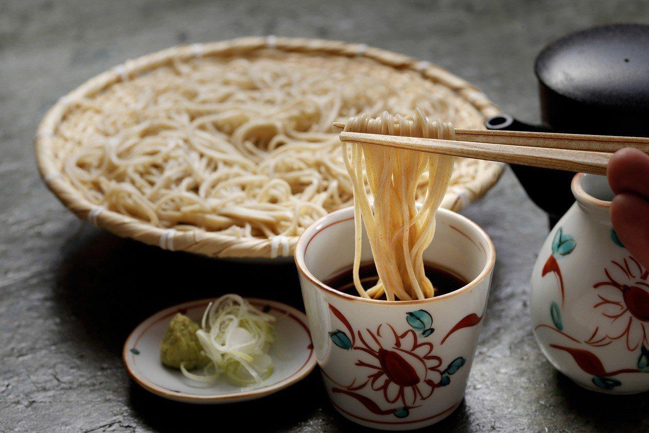菜な(nana)冷蕎麥(沾麵)。圖/微風提供