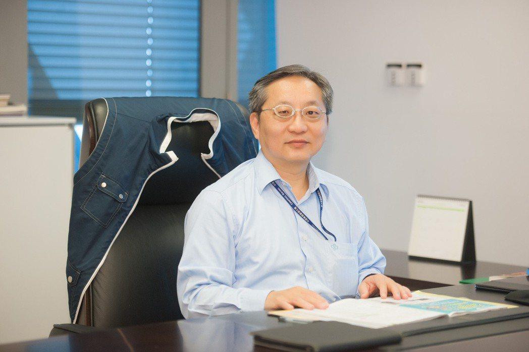 中鋼財務部門助理副總經理楊岳崑升任財務副總經理。 圖/中鋼提供
