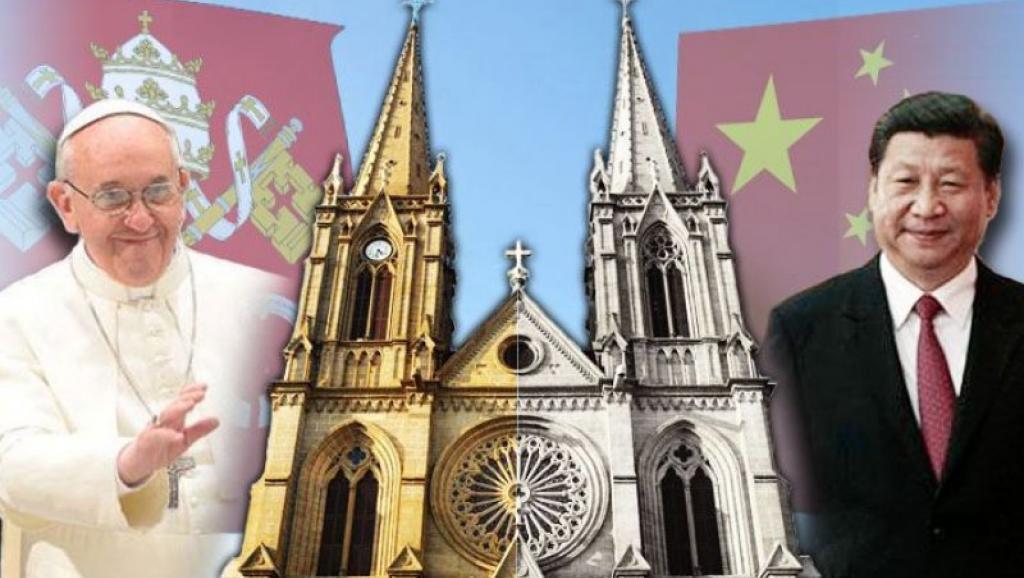 北京故宮博物院和梵蒂岡博物館交換40件藝術文物展出。(取自法廣中文網)