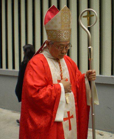 天主教香港教區前樞機主教陳日君。圖/取自維基百科