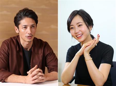 玉木宏(左)與木南晴夏(右)六月要結婚。 圖/擷自產經體育報網站