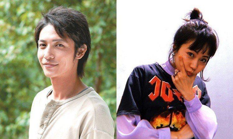 (左)玉木宏、(右)木南晴夏。圖/山水提供、擷自instagram
